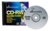 Imation 650MB 4-12x CD-RW Disk 10pk -- 40955