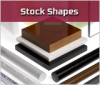 Engineered Plastics Stock Shape -- PVC