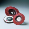 3M(TM) Abrasive Flap Disc 747D, 4 1/2 in x 7/8 in 36 X weight, 10 per case -- 051111-49613