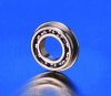 Flanged Open Extra Thin Metric Bearings -- F63802