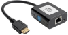 HDMI over Cat5/Cat6 Active Extender, Pigtail-Style Receiver for Video and Audio, 1080p @ 60 Hz, USB Powered, TAA -- B126-1A0-U