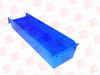 LEWIS BINS SB246-4SE-BLU ( LEWIS BINS, SB246-4SE-BLU, SB2464SEBLU, SHELF BIN, BLUE, 23-5/8INCH LONG, 4INCH HIGH ) -Image