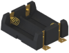 SMT Dual Holder for CR123A Cell w/ coil spring -- 1014 - Image