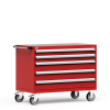 """R Mobile Cabinet, 5 Drawers (48""""W x 27""""D x 37 1/2""""H) -- R5BHG-3010 -- View Larger Image"""