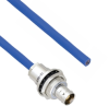Plenum Cable Assembly TRB Insulated Bulk Head Jack 3-Lug Cable Jack to Blunt MIL-STD-1553 .242