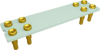 Relay Sockets, Solder Dip/8 Pin -- ST-8P-AL33