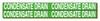Self-Sticking Vinyl Pipe Marker (4; 3/4