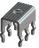 Snap In PC Mount 30Amp-Terminal Only -- 7786 - Image