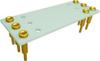 Relay Sockets, Solder Dip/7 Pin -- HFW2A-7P-BL60 - Image