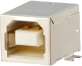 Horizontal USB B Modular Jack -- AJS09g4413-001 - Image