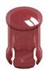 T-1 3/4 Lens Cap-Red -- 8668 - Image