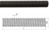 DryLin® Trapezoidal Threaded Spindle, Aluminum