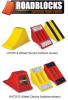 ALL TERRAIN URETHANE WHEEL CHOCKS -- HAT2512-AC-R - Image