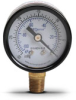 -30 to 0 inch Hg Vacuum Pressure Gauge with 1.5 inch mechanical dial -- G15-BDV-8LB - Image