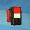 Double Push Button without Symbols -- N5DPLNRG00 -- View Larger Image