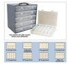 Plastic Boxes For Steel Box Racks -- HSP13-Clear -Image