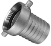 Fire Hydrant Pin Lug Hose Couplings - Female Ends -Image