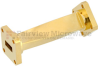 WR-42 45 Degree Waveguide Right-hand Twist Using a UG-595/U Flange And a 18 GHz to 26.5 GHz Frequency Range -- SMW42TW1003 - Image