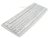 Kensington Washable USB/PS2 Keyboard with Antimicrobial.. -- K64406US