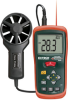 CFM/CMM Mini Thermo-Anemometer with built-in InfaRed Thermometer -- AN200