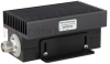 N Male (Plug) Termination (Load) 100 Watts High Power to 2.7 GHz, Low PIM Black Anodized Aluminum -- FMTR1032 -Image