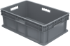 Container, Straight Wall Container, Solid -- 37688GREY
