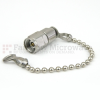 2.4mm Male (Plug) Termination (Load) 2 Watts To 50 GHz With Chain, 1.45 VSWR -- ST5041C -Image