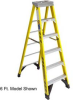 Werner Fiberglass Step Ladder -- T9H942828