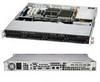 Supermicro 1012G-MTF Barebone 1U 350W AMD Socket G34 Opteron 6100 Series SATA Black -- SC813MTQ-350C - Image