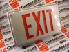 EXIT SIGN 1SIDED .14AMP 120/277VAC 60HZ -- LVSW1R120277UM