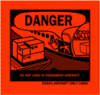 Hazardous Material Shipping Labels (Composite Plastic Label; 4 5/16