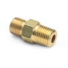 """3/8"""" male NPT x male Quick-test, with check-valve, brass -- QTHA-3MB1 -- View Larger Image"""