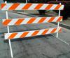 TD2500 Wood & Steel Type III Barricade -- TD2500 Wood & Steel Type III Barricade
