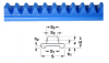 Flexirack Racks (metric) -- A 1M12MYHF082000 - Image