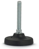 Machinery Foot Vibration Mount -- Steel Fixed Screw 103mm Base - Image