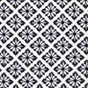 Diamond Floral Flock Fabric -- R-Damon -- View Larger Image