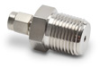 316 SS Compression Fitting for 1/8 inch diameter temperature probes -- CF18-50N