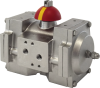 Stainless Steel Rack and Pinion Pneumatic Actuator -- GTS Range