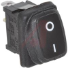 Switch, Rocker, Waterproof, 16 Amps, SP, On-Off, QC Terminals, Blk, O- Markings -- 70207437