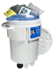 PIG Spill Kit in 95-Gallon Wheeled Overpack Salvage Drum -- KIT241 -Image