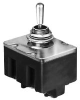 HONEYWELL S&C - 4TL172 - TL SERIES TOGGLE SWITCH, 4 POLE, 3 POSITION, SCREW TERMINAL, STA -- 551288