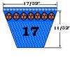 17560 Auto V-Belt