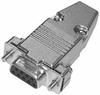 DSUB 9 Pin (f), Metal Hd, Sldr (CD-9709S, 9709HM) -- CD-DB9S