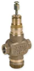 Two-Way Globe Valve,3/4 In NPT,7.3 Cv -- 4ATA5