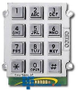 Ceeco Alphanumeric Stud Mount Keypad -- 705-100