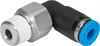 QSRL-1/2-1/2-U Push-in L-fitting -- 153974