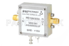 3 dB NF Low Noise Amplifier, Operating from 0.01 MHz to 1.4 GHz with 42 dB Gain, 19 dBm P1dB and SMA -- PE15A1055 -Image