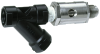 Dual Check Valve with Atmospheric Port & Strainer for Carbonated Beverage Machines -- SD-3
