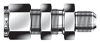 Dk-Lok® AN Bulkhead Union -- DUBA 2-2 - Image