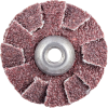 Merit AO Coarse Grit Overlap Slotted Disc -- 8834184346 - Image